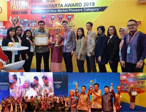 Landson Menerima PRIMANIYARTA Award 2019