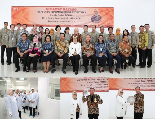 Kunjungan Kepala BPOM RI ke Pabrik OTTO di Bandung
