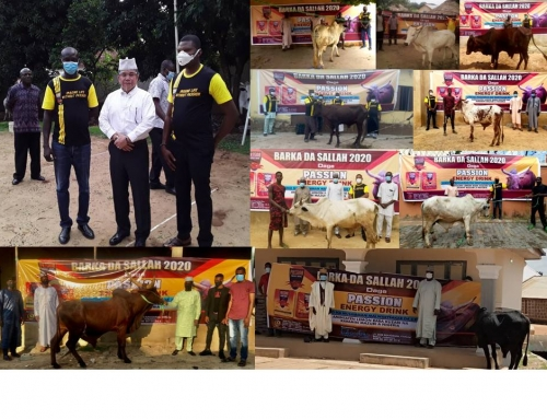 PASSION Sharing Eid Al-Adha Qurban in Nigeria and Ghana